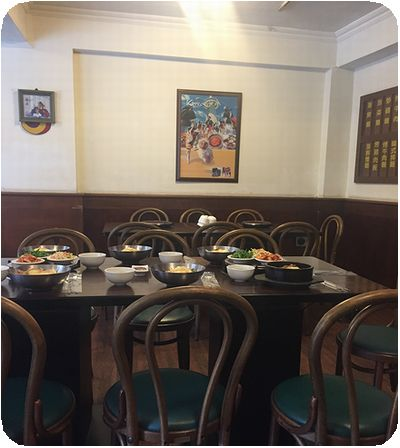 韓舍韓國食堂店内