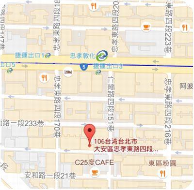 Botega del Vin Taipei地図