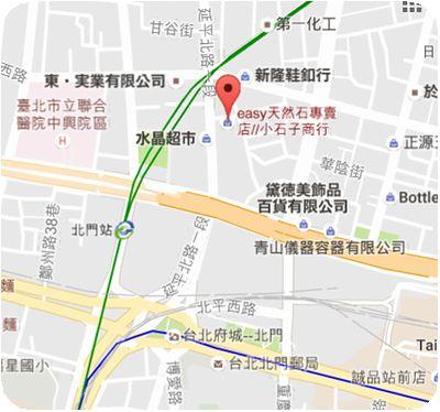 EASY天然石専売店地図