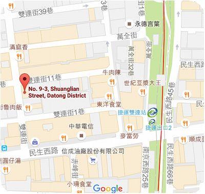 品香越南牛肉河粉地図
