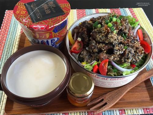 リッチカップヌードル(フカヒレ味)弁当01