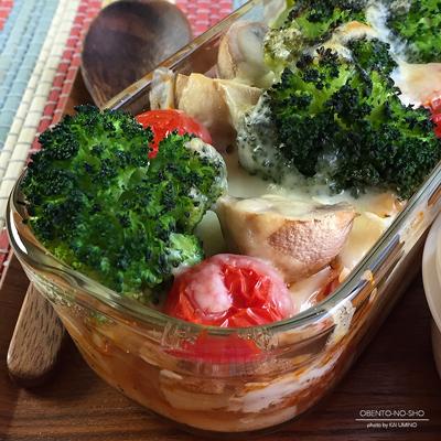 野菜のマカロニミートグラタン弁当04