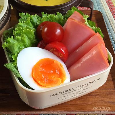 バジルと胡桃の冷製パスタ弁当03
