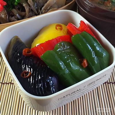 炊飯器きのこ牛丼弁当03