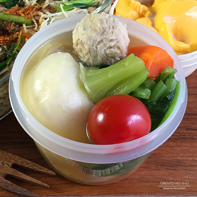 高菜とツナの素麺チャンプルー弁当03