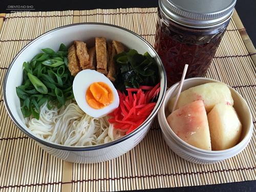 冷やしきつね素麺弁当01