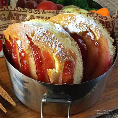 紅玉のホットケーキ弁当02