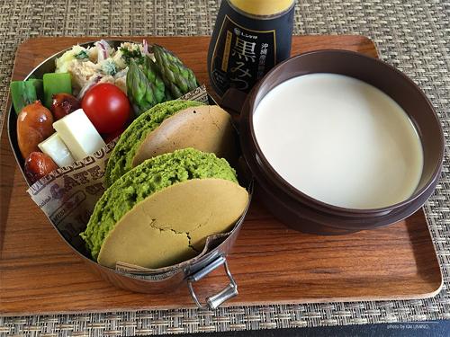 抹茶ホットケーキ弁当01