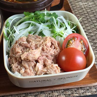 しば漬けご飯のカツ丼弁当04