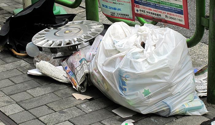 【怖い話】ゴミ集積所の幽霊