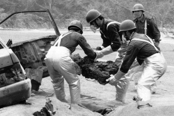 1991年 雲仙・普賢岳大火砕流を...