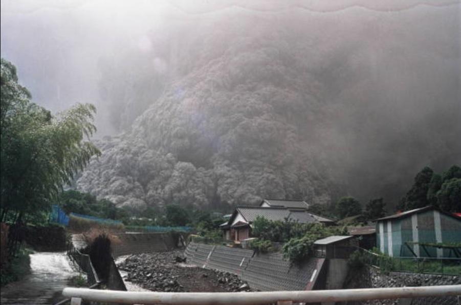 1991年 雲仙・普賢岳大火砕流