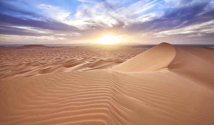 砂漠にいる夢を見たときには