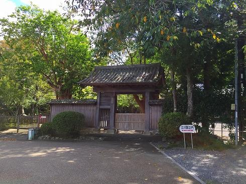 江川邸正門