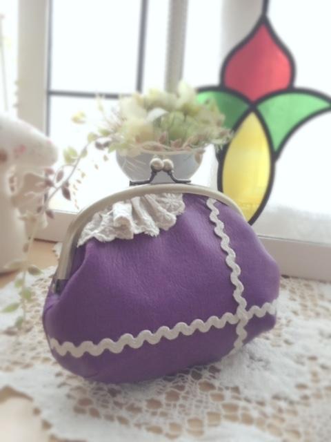 2016.10.29がま口紫