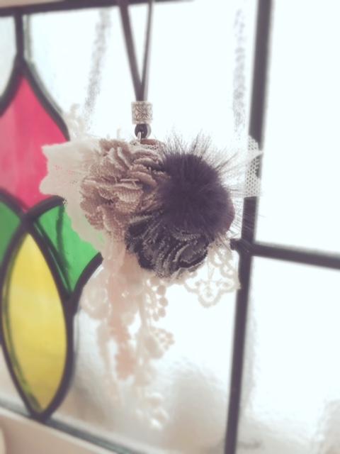 2016.11.1ミンクボールモチーフチョーカー②