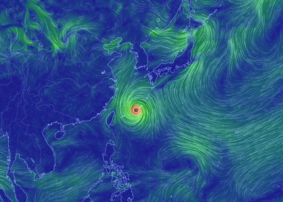 【台風18号】905hPa  最大瞬間風速は85メートルで猛烈な勢力に…気象庁「重大な危険が差し迫る異常事態です」特別警報を発表
