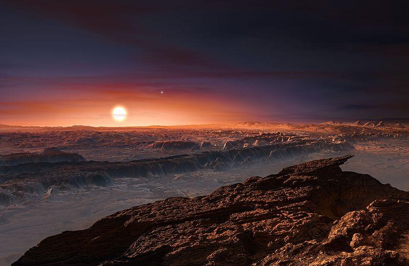 太陽に最も近い恒星…惑星プロキシマbに深さ200kmの「液体の海が存在」か