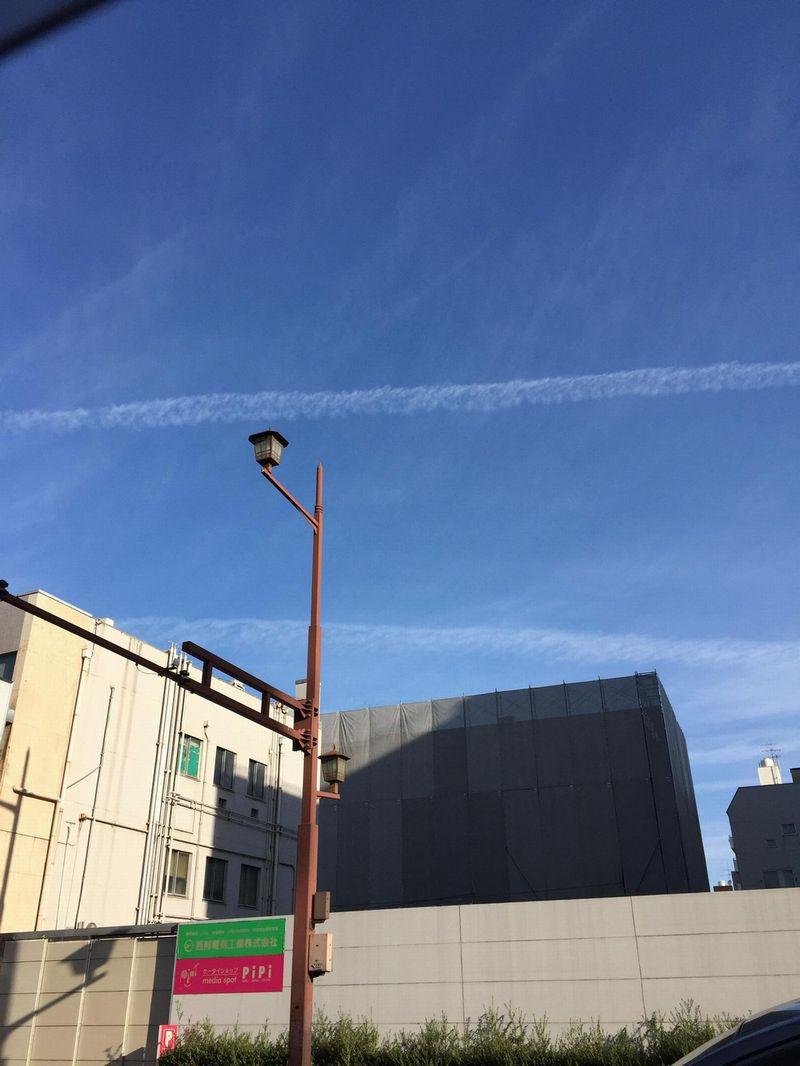 【熊本】これって地震雲?地震きて外に出たら変な雲あった
