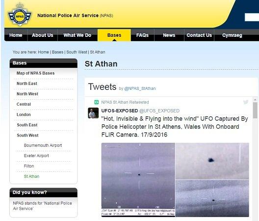 【UFO】イギリス国家航空警察が赤外線カメラにしか映らない「謎の物体」を公開…一瞬にして消え、管制塔でも捉えられず
