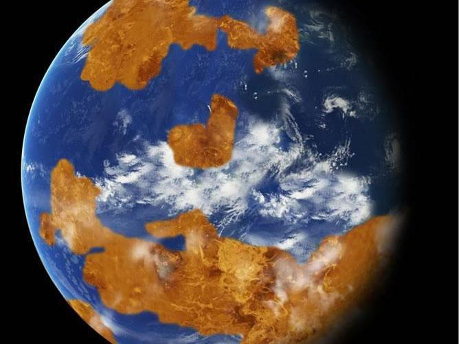【金星人】遥か昔の「金星」は地球にとてもよく似ていた…海があり生命も存在可能だった?