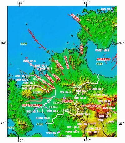 まーた福岡に地震きたぞ!北九州地方に大地震の兆候か?震度3と2の地震が発生