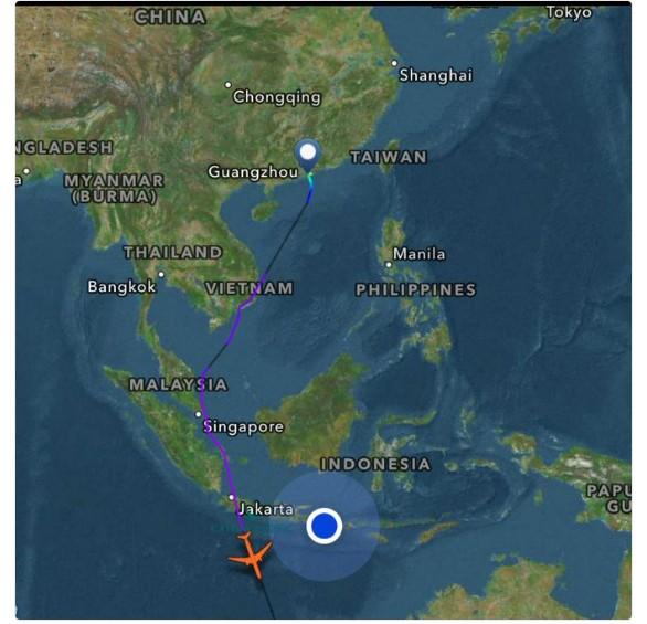 インドネシ・リンジャニ山が噴火…火山灰によりロンボク島の空港が閉鎖
