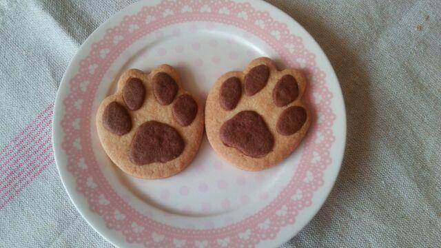 にくきゅうクッキー