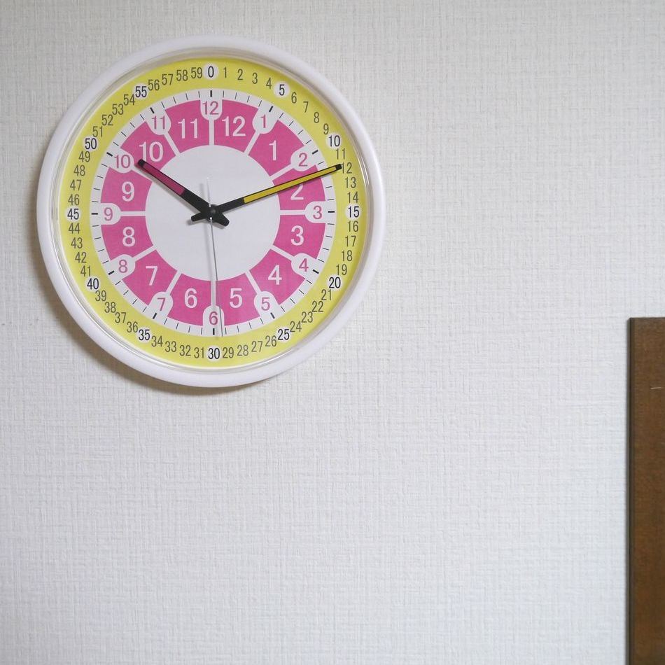 こども時計 B17