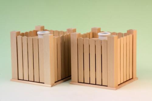 木製花台 祭壇形式で祭るときの必需品