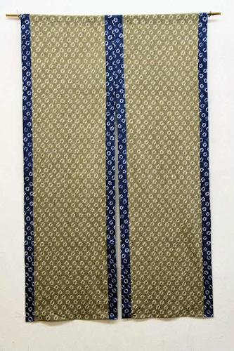 オリジナル暖簾 藍染絞りの暖簾