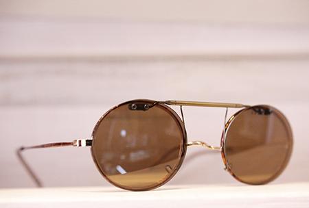 クリップオン サングラス フリップアップ 跳ね上げ 眼鏡 オーダー 製作 新潟県 長岡市 三条市 見附市 上越市