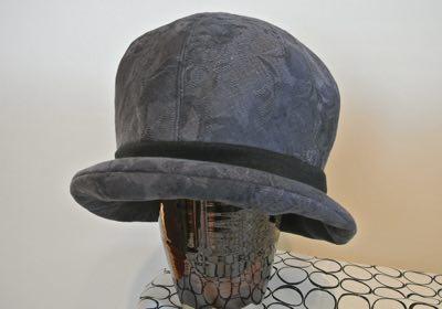 綿ジャガードの帽子