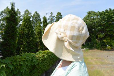 風抜ける帽子