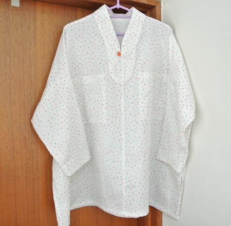 手縫いパジャマ