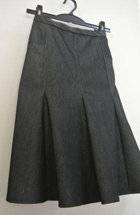 マーメイドスカート試作-1