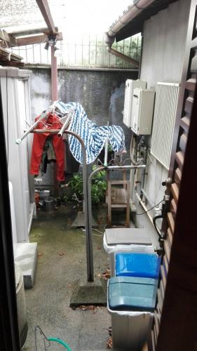 洗濯場 改装前