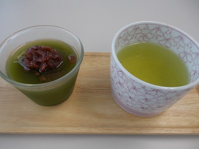 お茶のデザート