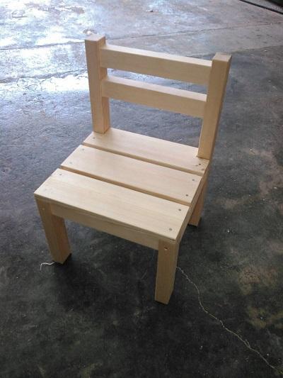 木工教室 イス