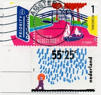 切手13  オランダ