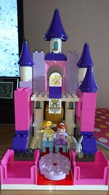 お城完成崩壊完成