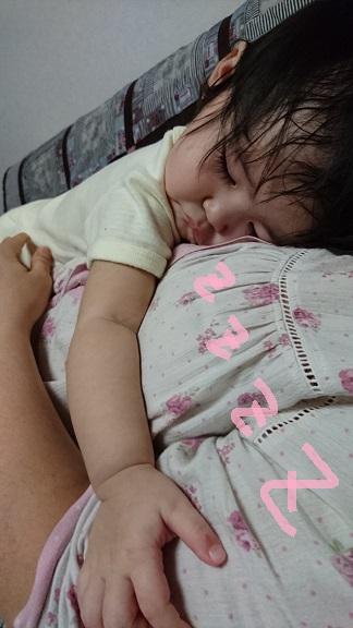 自由な愛娘の眠り