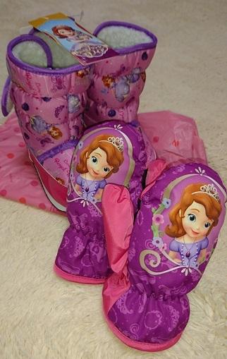 雪遊び用ブーツ&手袋