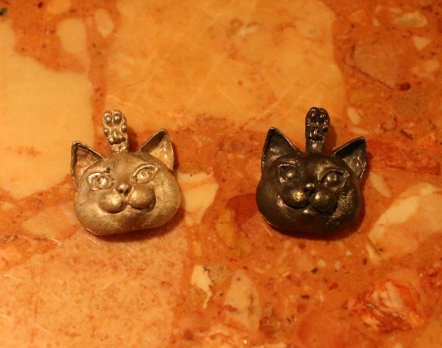パンタレイ panta 大田区 池上 ギャラリー シルバー アクセサリー ねこ 猫
