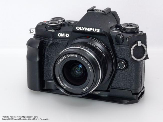M.ZUIKO DIGITAL ED 12mm F2.0 + OM-D E-M5 Mark2 フードなし