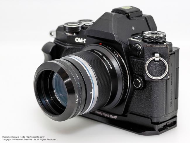 OLYMPUS M.ZUIKO DIGITAL 45mm F1.8 + OM-D E-M5 Mark2