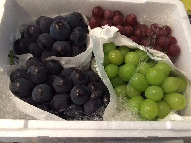 葡萄の詰合せ