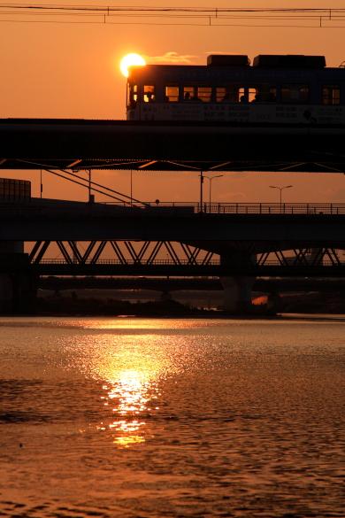 2009年6月 阪堺電軌阪堺線 我孫子道~大和川