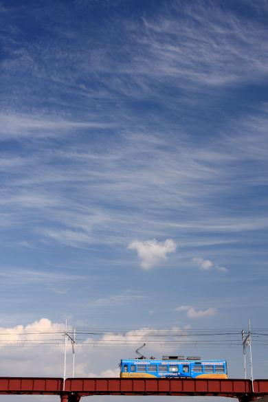 2009年 阪堺電軌阪堺線 我孫子道~大和川