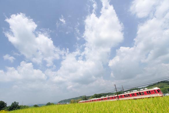 2016/8/14 神戸電鉄三田線 田尾寺~二郎